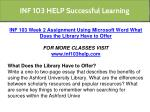 inf 103 help successful learning 3