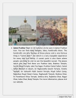 ajmer pushkar tour a rich culture is to be seen