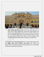 jaipur sightseeing tour we offer you the best