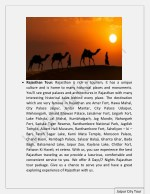 rajasthan tour rajasthan is rich in tourism