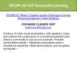 iscom 361 aid successful learning 10