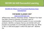 iscom 361 aid successful learning 16