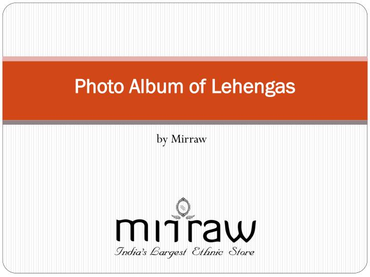 photo album of lehengas n.