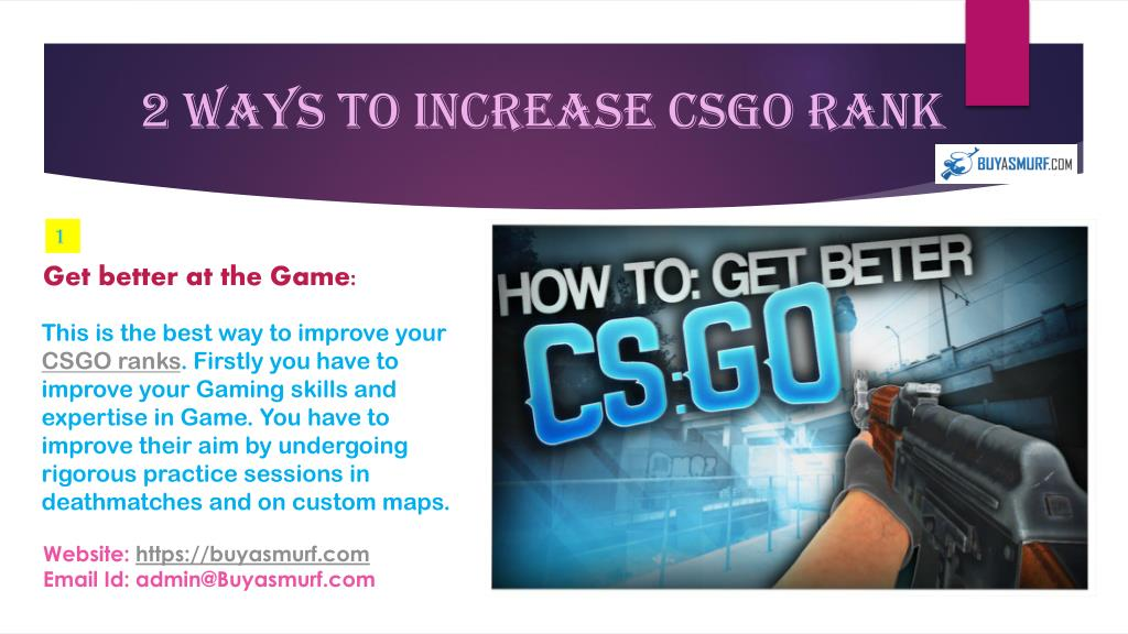 PPT - Get the best CSGO Ranks to play with gaming community