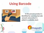 using barcode