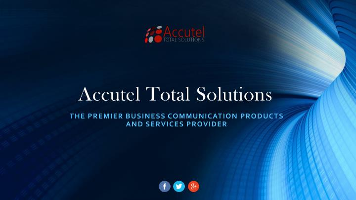 accutel total solutions n.