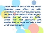 shoes freak is one of the top shoes shopping