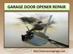 garage door opener repair 1