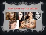 skin care in las vegas