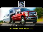 bc diesel truck repair ltd