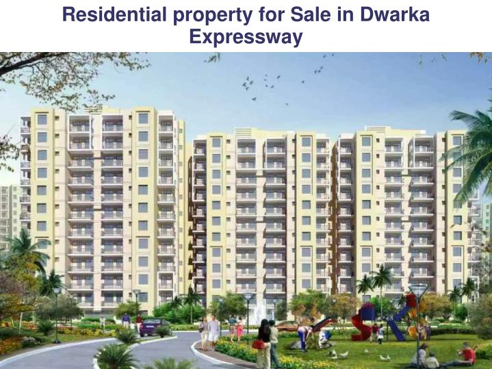 residential property for sale in dwarka expressway n.