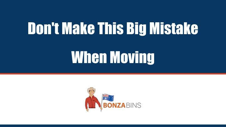 don t make this big mistake when moving n.