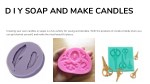 d i y soap and make candles