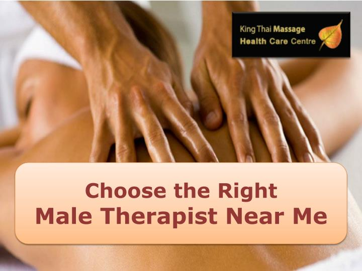 choose the right male therapist near me n.