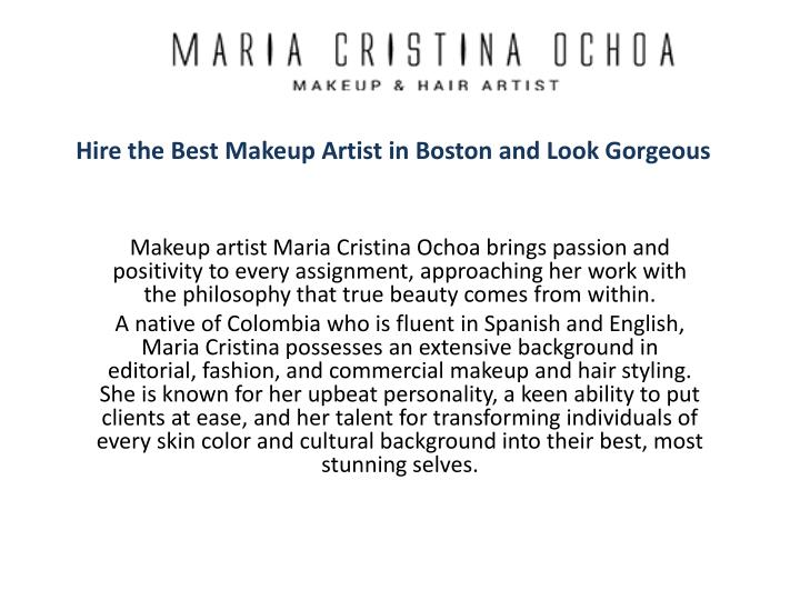 hire the best makeup artist in boston and look gorgeous n.