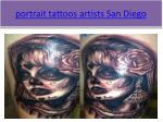 portrait tattoos artists san diego