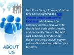 best price design company is the only