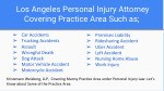 los angeles personal injury attorney covering