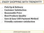 enjoy shopping with trendyfty