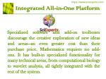 integrated all in one platform