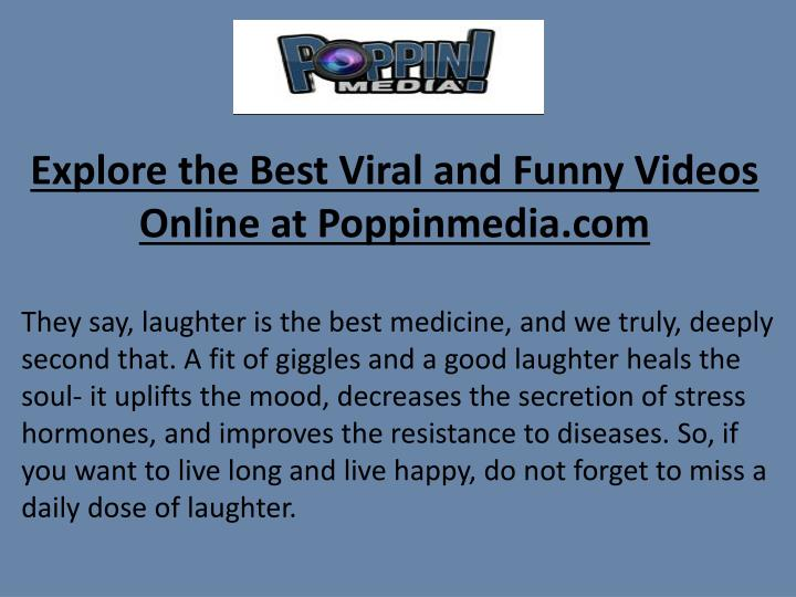explore the best viral and funny videos online at poppinmedia com n.
