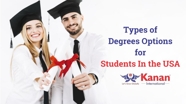 types of degrees options for students in the usa n.