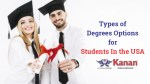 types of degrees options for students in the usa