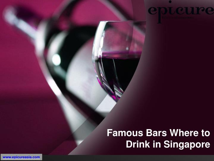 famous bars where to drink in singapore n.
