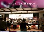 kanpai 789 singapore