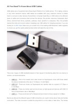 all you need to know about usb cables