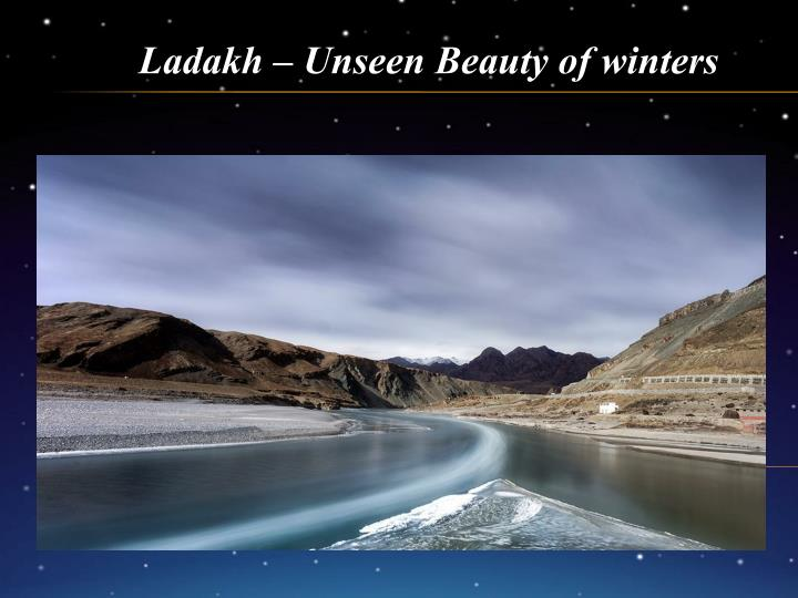 ladakh unseen beauty of winters n.