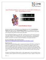 atrial fibrillation market is projected