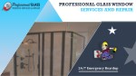professional glass window services and repair