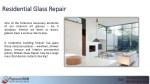 residential glass repair residential glass repair