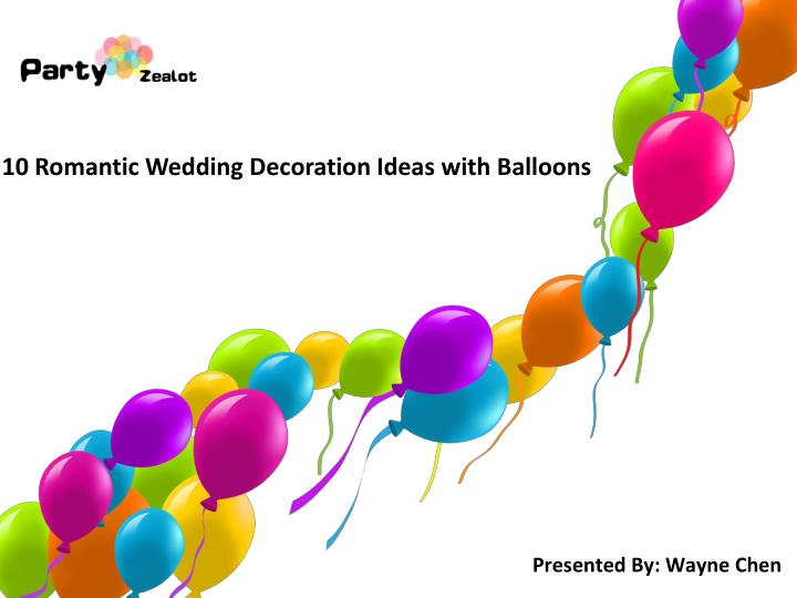 10 romantic wedding decoration ideas with balloons n.