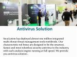 antivirus solution