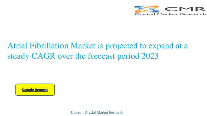 atrial fibrillation market is projected to expand at a steady cagr over the forecast period 2023 n.