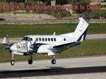 king air ambulance service in delhi