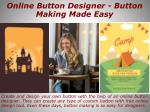 online button designer button making made easy