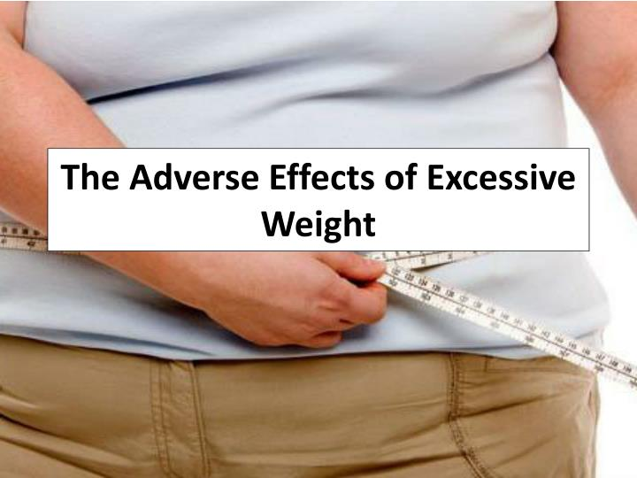 the adverse effects of excessive weight n.