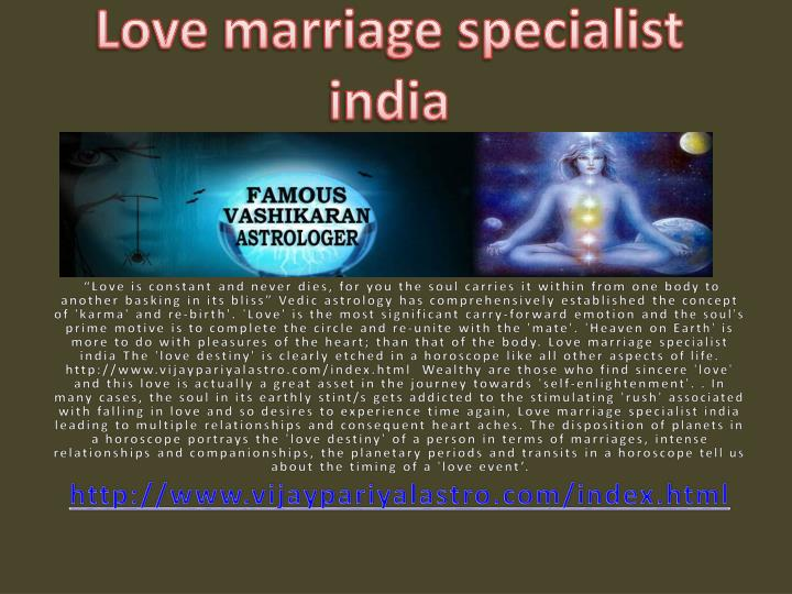 love marriage specialist india n.