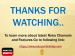 thanks for watching to learn more about latest