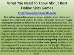 what you need to know about best online slots games https www deliciousslots com