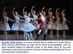 beautiful ballet pictures of various national
