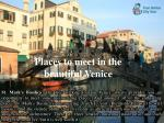 places to meet in the beautiful venice