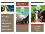 himalayan sojourn program by outward bound bharat