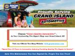 choose gary s quality automotive as your trustworthy tire repair shop near grand island ne