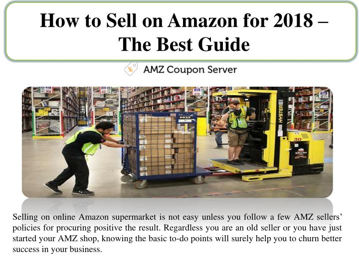 how to sell on amazon for 2018 the best guide n.