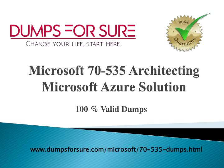 microsoft 70 535 architecting microsoft azure solution n.