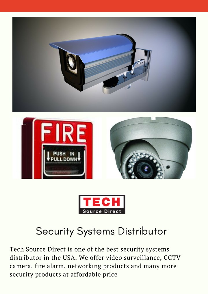 security systems distributor n.